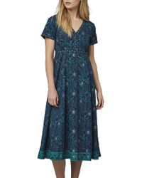 East - Handblock Print Miriam Dress - Lyst