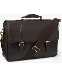 John Lewis - Salzburg Leather Briefcase - Lyst
