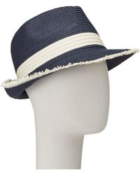 John Lewis - Packable Raw Edge Trilby Hat - Lyst