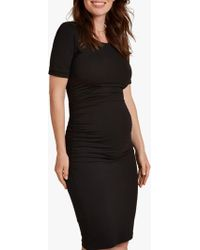 Isabella Oliver - Ruched T-shirt Dress - Lyst