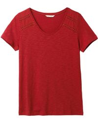 White Stuff - Frances Jersey T-shirt - Lyst
