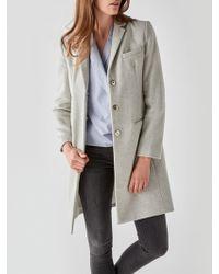 Great Plains - Nipper Wool Blend Coat - Lyst