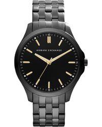 Armani Exchange - Ax2144 Men's Stainless Streel Bracelet Strap Watch - Lyst