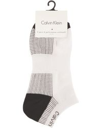 CALVIN KLEIN 205W39NYC - Performance Coolmax Trainer Socks - Lyst