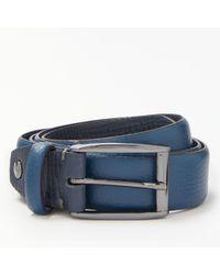 Ted Baker - Hanoy Coloured Leather Belt - Lyst