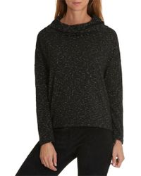 Betty & Co. - Textured Jersey Top - Lyst