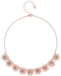 Ted Baker - Siero Swarovski Crystal Daisy Lace Necklace - Lyst