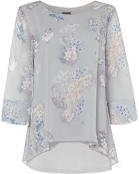Phase Eight - Shila Floral Blouse - Lyst