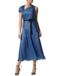 L.K.Bennett - Belle Stripe Dress - Lyst
