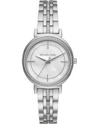 Michael Kors - Mk3641 Women's Cinthia Crystal Bracelet Strap Watch - Lyst