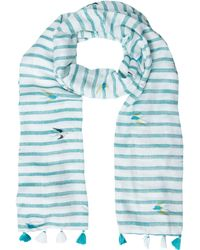 White Stuff - Border Spotted Scarf - Lyst