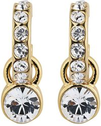 Dyrberg/Kern - Laurino Swarovski Crystal Earrings - Lyst