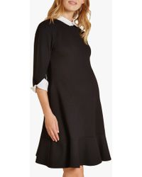 Isabella Oliver - Paige Contrast Maternity Dress - Lyst