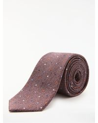 Richard James - Multi Spot Silk Tie - Lyst