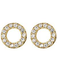 Dyrberg/Kern | Dyrberg/kern Koro Brass Earrings | Lyst