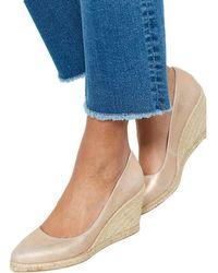 John Lewis - Mint Velvet Grace Wedge Heel Court Shoes - Lyst
