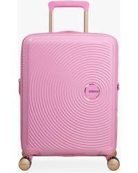 American Tourister - Soundbox 4-spinner Wheel 55cm Cabin Suitcase - Lyst