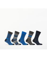 John Lewis - Multi Pattern Socks - Lyst