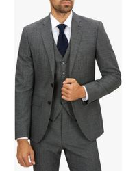 Jaeger - Wool Textured Slim Fit Suit Jacket - Lyst