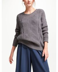 Modern Rarity - Cable Knit Jumper - Lyst