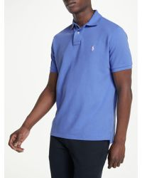 Ralph Lauren - Polo Custom Slim Fit Weathered Polo Shirt - Lyst