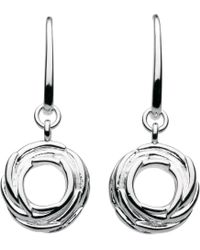 Kit Heath | Sterling Silver Nest Drop Earrings | Lyst