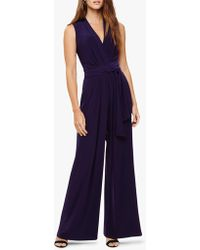 b6543faf899 White Stuff Darcy Jumpsuit in Black - Lyst