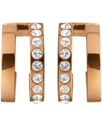 John Lewis - Dyrberg/kern Swarovski Crystal Hoop Earrings - Lyst
