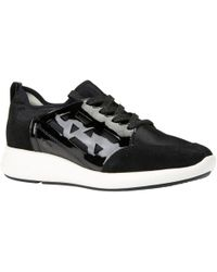 Geox - Women's Ophira Lace Up Trainers - Lyst