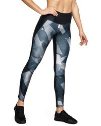 Under Armour - Fly Fast Printed Running Tights - Lyst