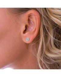 John Lewis - Nina B Cubic Zirconia Round Stud Earrings - Lyst