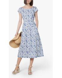 L.K.Bennett - Glenda Fifties Tea Dress - Lyst