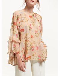 Marella - Pandoro Floral Print Blouse - Lyst