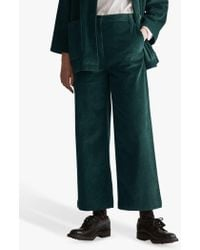 Toast - Cord Wide Leg Trousers - Lyst