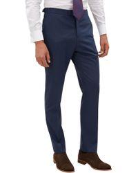 Jaeger - Plainweave Slim Fit Trousers - Lyst