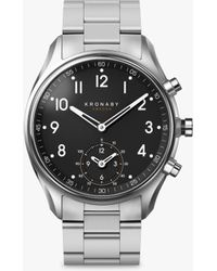 Kronaby - Connected Men's Apex Bracelet Strap Smartwatch - Lyst