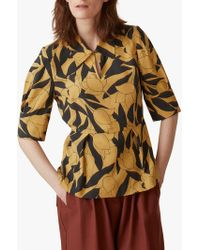 Toast - Linear Floral Print Shirt - Lyst