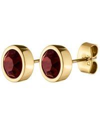 Dyrberg/Kern - Noble Swarovski Stud Earrings - Lyst