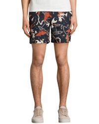 AllSaints - Waikiki Swim Shorts - Lyst