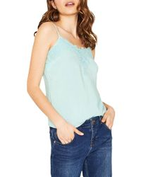 Oasis - Lace Trimmed Camisole - Lyst