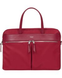 "Knomo - Hanover Slim Briefcase For 14"" Laptops - Lyst"