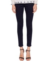 aa3e4dd43aa0d9 Ted Baker - Dahlene Star Embroidered Skinny Jeans - Lyst