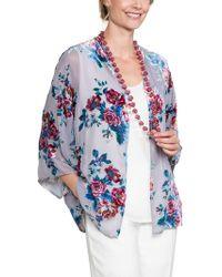East - Valentina Devore Kimono - Lyst