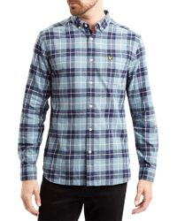 Lyle & Scott - Check Long Sleeve Shirt - Lyst