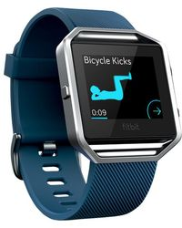 Fitbit - Blaze Wireless Activity And Sleep Tracking Smart Fitness Watch - Lyst