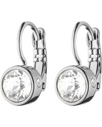 Dyrberg/Kern - Dyrberg/kern Swarovski Crystal Hook Earrings - Lyst