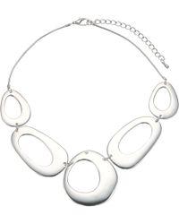 John Lewis - Cutout Circles Necklace - Lyst