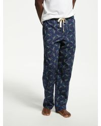 John Lewis - Gecko Print Pyjama Bottoms - Lyst