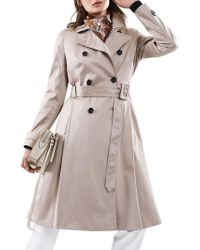Reiss - Hyde Trench Coat - Lyst