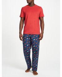 John Lewis - Tiger Print Lounge Trousers - Lyst